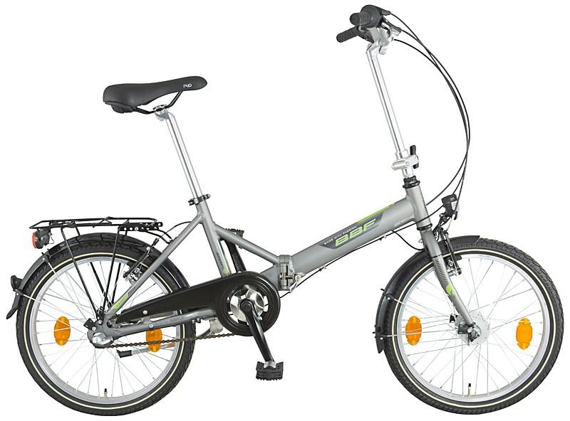 BBF Rugen - model 2017 - skladací bicykel
