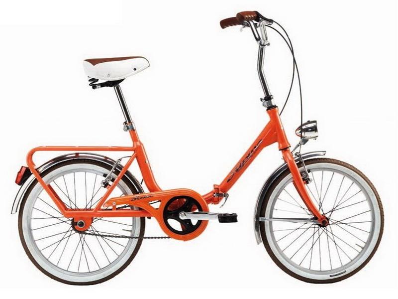 Alpina Camping - skladací bicykel
