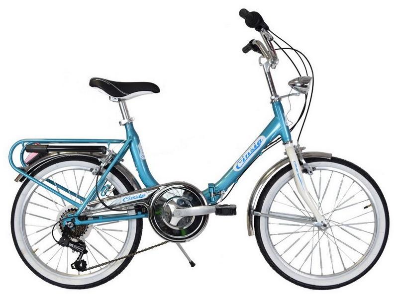 Cinzia Firenze - skladací bicykel