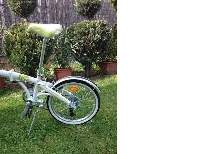 Cinzia FLEXY - skladací bicykel