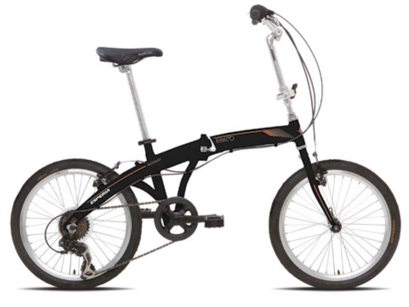 Esperia Naked - skladací bicykel