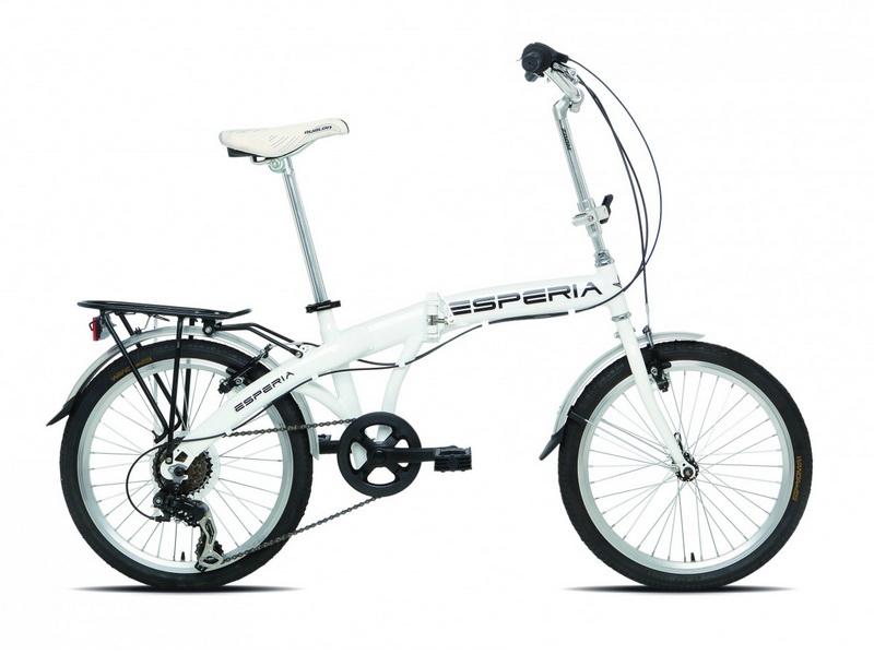 Esperia Kelly - skladací bicykel