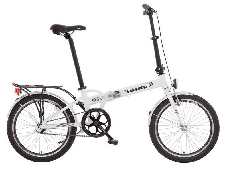 LIBERTY Phoenix 1 SPD - skladací bicykel
