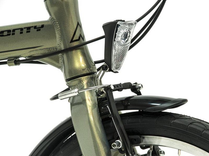 Monty Fusion - skladací bicykel