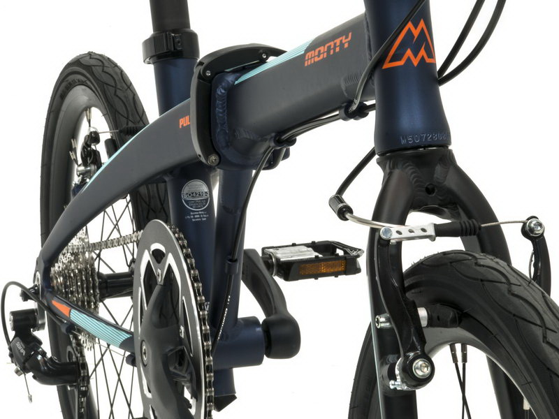 Monty Pulse - skladací bicykel