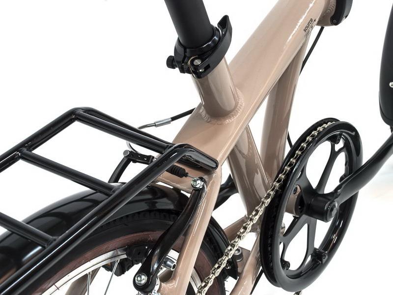 Monty Source - skladací bicykel