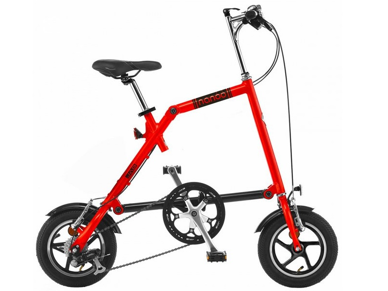 Nanoo FB12 - skladací bicykel