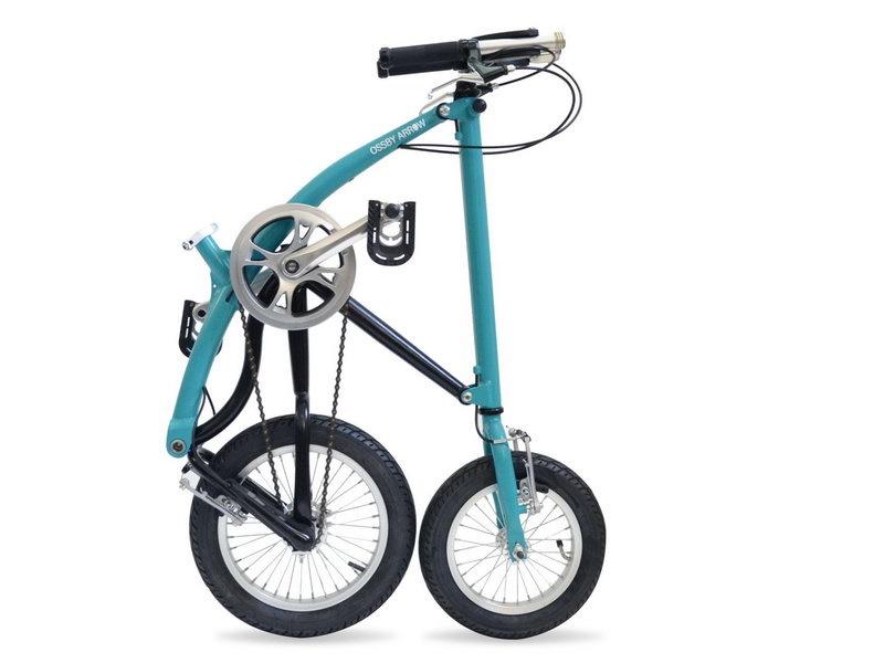 Ossby Arrow - skladací bicykel
