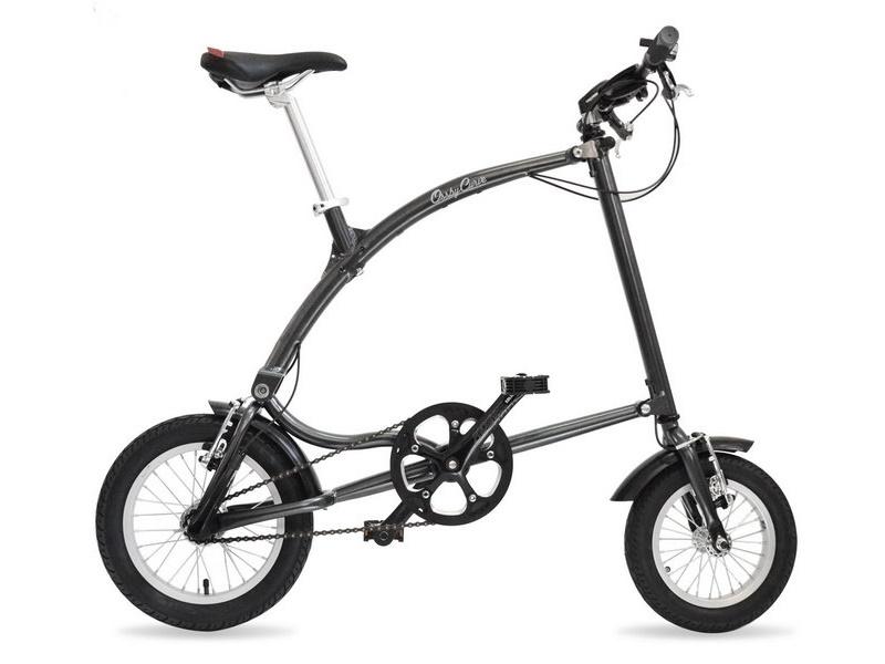 Ossby Curve - skladací bicykel